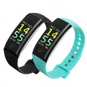 Bakeey M9 Blood Pressure Heart Rate Monitor Fitness Tracker Sport Bluetooth Smart Wristband