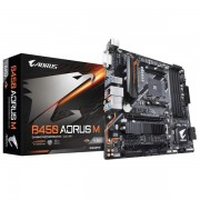 Gigabyte B450 Aorus M (rev. 1.0) Socket AM4 Amd B450 Micro Atx