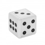 SQ16 Dice Apperance Mini Camera HD 1080P Night Vision Camcorder DVR Micro Video Camera - White
