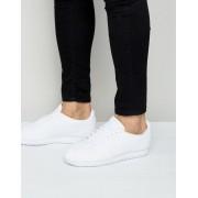 Nike Белые кожаные классические кроссовки Nike Cortez 749571-111 - Белый
