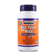 ORGANIC RED YEAST RICE 600mg 60 VCaps