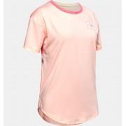 Under Armour Girls' HeatGear® Armour Short Sleeve Orange YXL