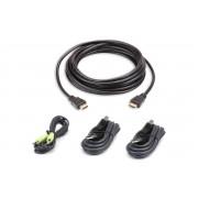 Kit cavo KVM di sicurezza USB HDMI da 3 M
