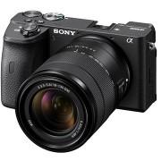 Sony Alpha A6600 fekete + 18-135mm OSS SEL