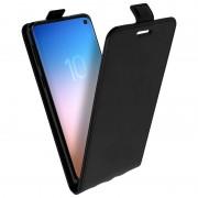 avizar Capa Avizar Carteira Vertical Preta para Samsung Galaxy S10e