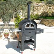 EXIM VULCANO-3 Alsace Premium Versatile Outdoor Pizza Oven