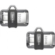SanDisk SDDD3-032G-I35 32 GB Pen Drive(Multicolor)