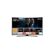 Smart Tv Led Curva 55'' Ultra Hd 4K Samsung 55Mu6300 Com Conversor Digital 3 Hdmi 2 Usb Wi-Fi Integrado Plataforma Smart Tizen