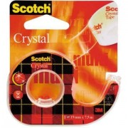 Banda adeziva Scotch Crystal Clear & reg 19x7.5 mm (13K010A)