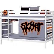 Hoppekids Våningssäng 90 x 200 cm - Hoppekids Skater Säng 102728