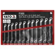 Set chei inelare cu cot 6-32mm Yato