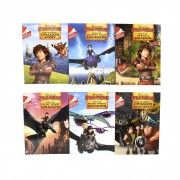 Hodder How To Train Your Dragon Early Reader 6 Books Children Set - Ages 5-7 - Paperback By Erica David