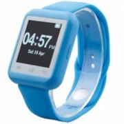 Smartwatch iUni U900i Plus Bluetooth LCD 1.44 Inch Blue Bonus Bratara Roca Vulcanica unisex