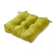 Greendale Home Fashions 20-Inch Indoor/Outdoor Chair Cushion, Kiwi