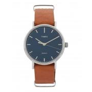 ユニセックス TIMEX TW2P98300 FAIRFIELD 腕時計 ダークブルー