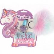 Set frumusete Unicorn Dreams cu breloc, Martinelia, 3 piese