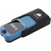 USB Flash Drive Corsair Voyager Slider X2 256GB USB 3.0 Negru-Albastru
