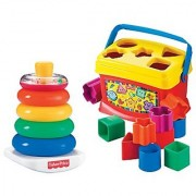 Babys First Blocks and Rock Stack Bundle