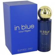 Courreges in blue 90 ml eau de parfum edp profumo donna