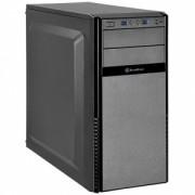 Carcasa Silverstone Silent Computer Case SST-PS11B-Q Precision Midi Tower ATX, black