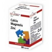 Calciu, magneziu, zinc 30cps FARMACLASS