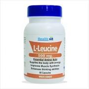 Healthvit L-Leucine 500mg. 60 Capsules
