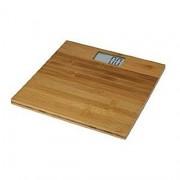 Cantar de baie electronic din lemn