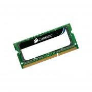 Memoria Corsair SODIMM DDR3 PC3-8500 1066 MHz, 4 GB. CMSA4GX3M1A1066C7