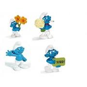 Schleich Smurf Collection Figures Set of 4