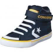 Converse Pro Blaze Strap Varsity Navy/white/yellow, Skor, Sneakers och Träningsskor, Höga sneakers, Blå, Unisex, 30
