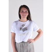 Isabel Marant t-shirt Koldi TS0299-00M008E wit