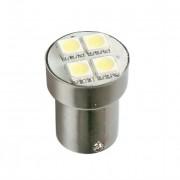 Lampa Lámpara P21w Hyper Led Blanco 24v 4smd 3 Chip Ba15s (blíster 1 Unidad)