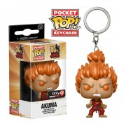 Funko Pop Akuma Gamestop Keychain Exclusive Street Fighter