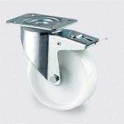 TENTE Polyamidové kolo otočné s brzdou 80 mm
