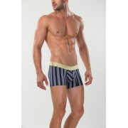 Mundo Unico Similan Short Boxer Brief Underwear Navy/Ecru/Olive Green/Gold 15300822-82