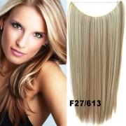 Flip in vlasy - 55 cm dlouhý pás vlasů - odstín F27/613 - Světové Zboží