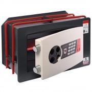 Seif de incastrat in perete, inchidere electronica,230x350x190, Planet Safe WL.2319.E