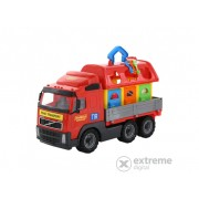 Jucarie camion transport animale Volvo, 45 cm