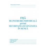 Fisa individuala de instructaj in domeniul situatiilor de urgenta, carnet 10 file, 25 bucati/set