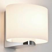 Astro Siena Oval wandlamp exclusief E14 chroom 14x15x13cm IP44 zink A+ 0666