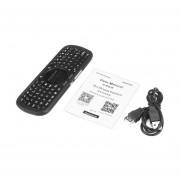 EY IPazzPort Mini Teclado Bluetooth inalámbrico con Touchpad para Android TV Box-Negro