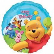 DM 1 X 18 Winnie the Pooh & Friends Sunny HBD by Party Destination