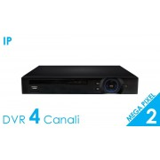 HDVision Videoregistraore NVR 4 Canali IP 2Mpx (1080p) CLOUD Onvif 2.1