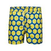 SELECTED Tryckta - Badshorts Man Blue; Yellow