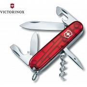 Navaja Victorinox de Bolsillo Spartan Roja Trans
