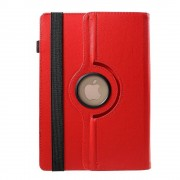 Javu - HP Pro Slate 8 Tablet Hoes - Rotatie Cover Lychee Rood