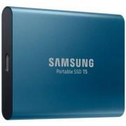 Твърд диск Samsung Portable SSD T5 250GB USB-C 3.1, 3D V-NAND, 540 MB/s read, 540 MB/s write, 256-Bit-AES, MU-PA250B/EU