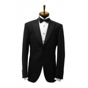 Sacou smoking Slim Fit Gentlemen`s Corner - Pure Black - NOU!