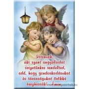 Hűtőmágnes gyerekek imával
