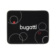 Велурен калъф за iPad Bugatti черен